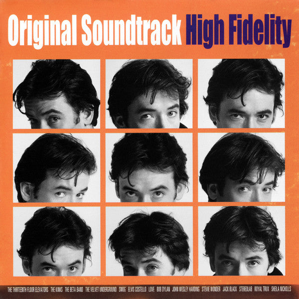 Original Soundtrack - High Fidelity - New Vinyl Record 2015 Record Store Day Black Friday Gatefold 15th Anniversary Pressing on Orange Vinyl + Download