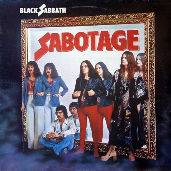 Black Sabbath - Sabotage (1975) - New Vinyl Record 180 Gram USA Press - Rock/Metal
