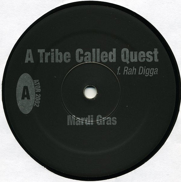 "A Tribe Called Quest – Mardi Gras / Confusion - VG+12"" USA 2002 - Hip Hop"