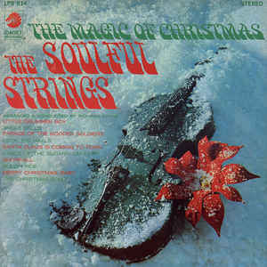 The Soulful Strings - The Magic of Christmas - VG Lp Record 1968 Cadet USA Stereo Vinyl - Chicago Funk / Soul-Jazz / Holiday