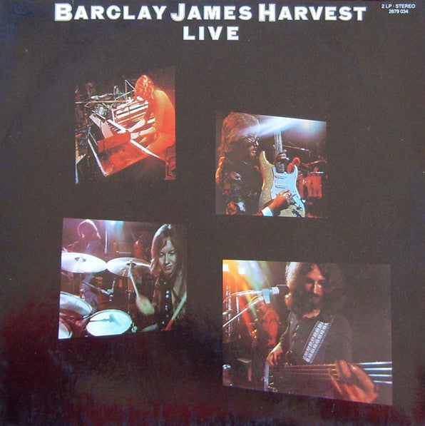 Barclay James Harvest ‎– Live - VG+ UK Press Stereo 2 Lp - B1-021