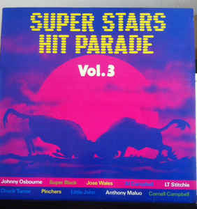 Various – Superstars Hit Parade Vol. 3 - VG 1987 (UK Import) - Reggae