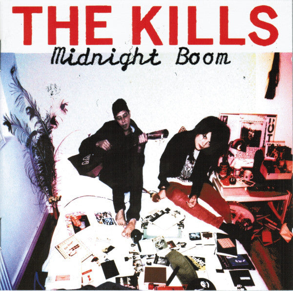 The Kills - Midnight Boom - New Lp Record 2008 Domino USA Vinyl & Download - Indie Rock / Garage Rock
