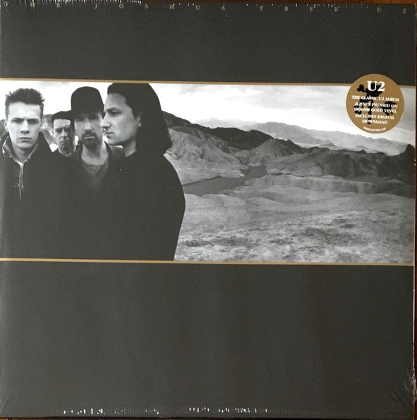 U2 - The Joshua Tree (1987) - New 2 Lp 2019 Island Europe Import 180 gram Gold Vinyl - Pop Rock / Alternative Rock