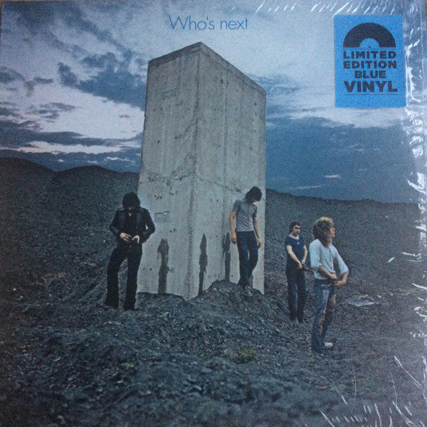 The Who - Who's Next (1971) - New LP Record 2019 Track Europe Import Blue Vinyl - Classic Rock