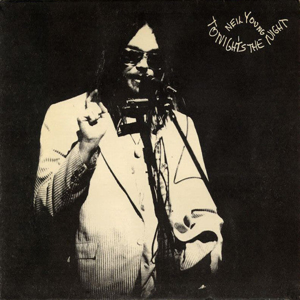 Neil Young – Tonight's The Night - VG+ 1975 USA (Original Press) (Promo Label Rare) (With Book) - B18-069