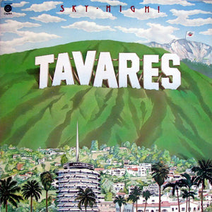 Tavares ‎– Sky-High! - Mint- Lp Record 1976 Capitol USA Vinyl - Soul / Disco / Funk