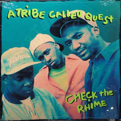 "A Tribe Called Quest – Check The Rhime / Skypager - VG+ 12"" Single USA 1991 - Hip Hop - Shuga Records Chicago"