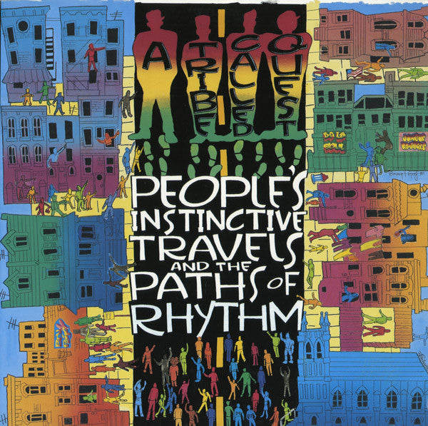 A Tribe Called Quest - Peoples Instinctive Travels and the Paths of Rhythm - New Vinyl 2016 Sony 25th Anniversary Edition Gatefold 2-LP Pressing - Rap / HipHop - Shuga Records Chicago