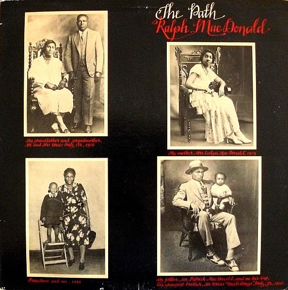 Ralph MacDonald ‎– The Path - Mint- Stereo USA 1978 Original Press USA - Funk / Latin - B16-049