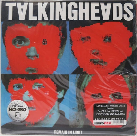 Talking Heads - Remain in Light - New Lp Record 2006 USA 180 gram Vinyl - Synth-Pop
