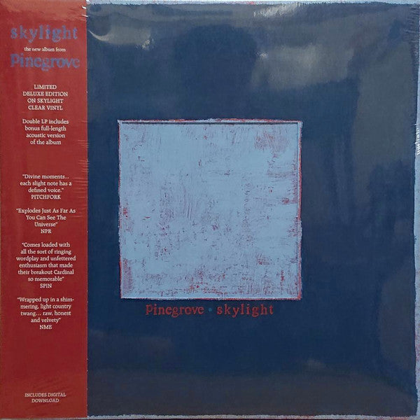 Pinegrove - Skylight - New 2 Lp Record 2018 USA Skylight Clear Vinyl & Download - Indie Rock / Folk Rock