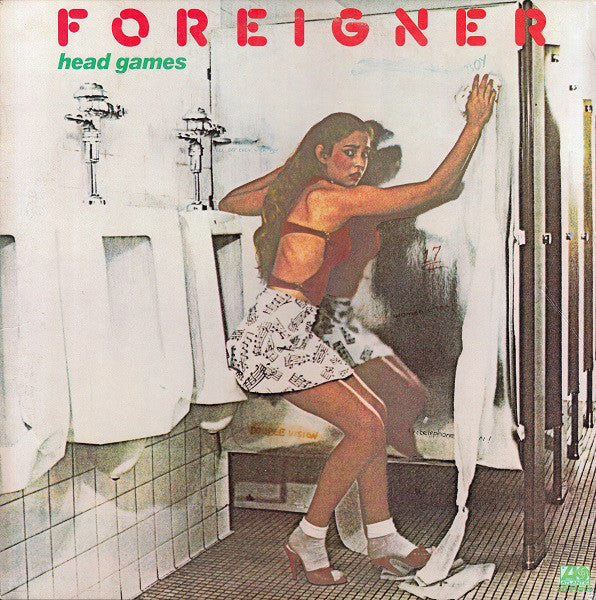 Foreigner ‎– Head Games - Mint- 1979 Stereo Original Press USA - Rock