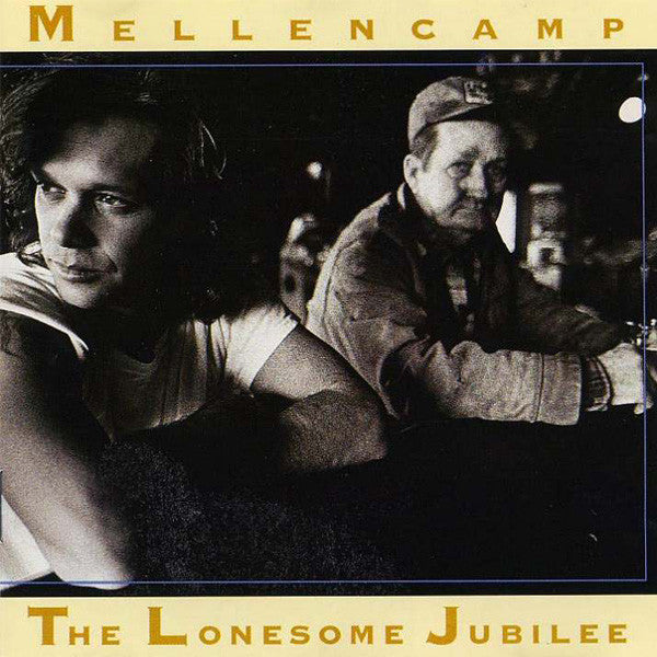 John Cougar Mellencamp ‎– The Lonesome Jubilee - VG+ Lp Record 1987 USA - Rock / Pop