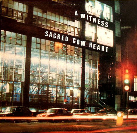 A Witness - Sacred Cow Heart - Mint- Stereo 1986 Communion Records USA - B3-034 - Shuga Records Chicago