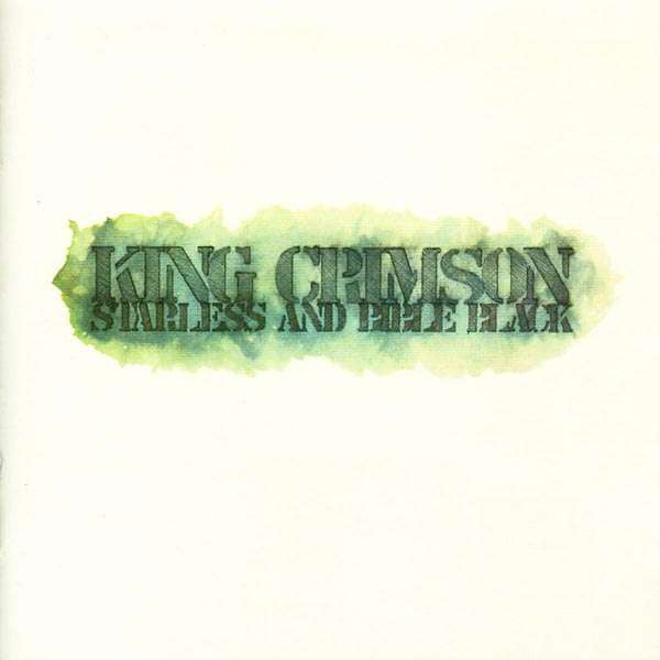 King Crimson ‎– Starless And Bible Black - VG Lp Record 1974 Atlantic USA Vinyl - Prog Rock