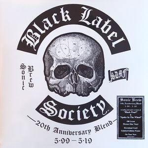 Black Label Society - Sonic Brew 20th Anniversary Blend 5.99 - 5.19  ‎– New 2LP 2019 on 180g Blue/Black/Silver Vinyl with Download/Poster - Metal