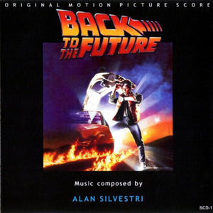 Soundtrack / Alan Silvestri - Back to the Future - New Vinyl Record 2016 Mondo Deluxe Gatefold 2-LP 180gram, First Time Vinyl!