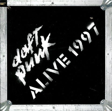Daft Punk - Alive 1997 - New Vinyl LP 2014 Reissue on 180gram Vinyl - Electronic
