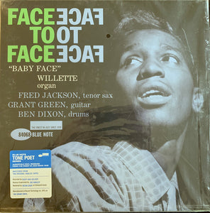 Baby Face Willette Quartet - Face To Face (1961) - New Vinyl LP Record 2019 Blue Note Tone Poet Series Reissue - Hard Bop / Soul-Jazz