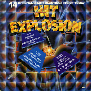 Various ‎– Hit Explosion - VG+ Lp Record 1983 Stereo USA - New Wave /Pop Rock