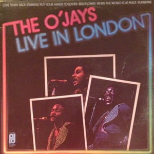 The O'Jays ‎– The O'Jays Live In London - VG+ 1974 Stereo Original Press USA - Disco / Funk / Soul
