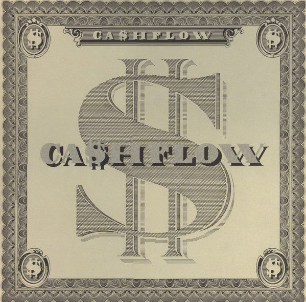 Ca$hflow ‎– Ca$hflow - VG+ 1986 Original Press USA - Soul/Funk