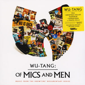 Wu-Tang Clan ‎– Wu-Tang: Of Mics And Men - New Lp Record 2019 Mass Appeal USA Yellow Vinyl & Sticker - Hip Hop