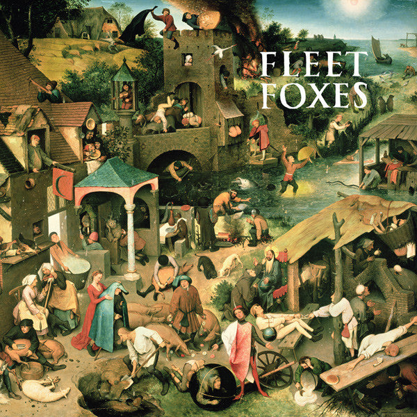Fleet Foxes - Fleet Foxes - New Vinyl Lp 2008 Sub Pop Pressing with Download and Bonus Sun Giant EP - Indie Folk / Rock