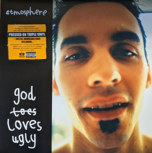 Atmosphere - God Loves Ugly (2002) - New 3 LP Record 2019 Rhymesayers USA Vinyl & Download - Hip Hop