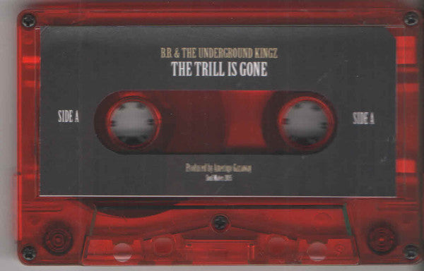 Amerigo Gazaway Presents B.B. King & The Underground Kingz (UGK) ‎– The Trill Is Gone - New 2 Lp Cassette Store Day 2018 Soul Mates USA Red Tape - Hip Hop / Blues Mashup