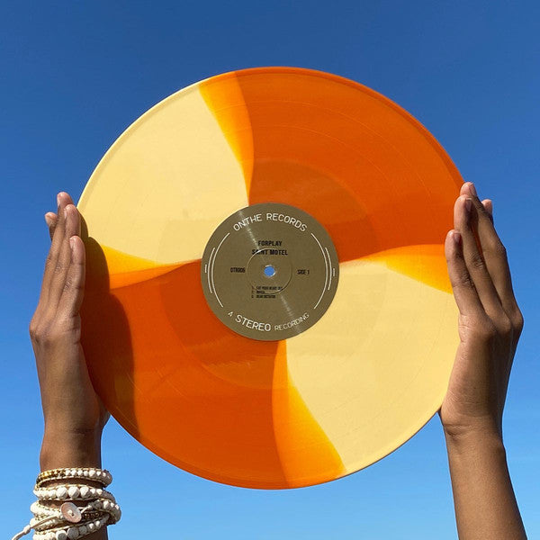 "Saint Motel - ForPlay EP  - New 12"" EP Record Store Day Black Friday 2019 OnThe USA RSD Yellow / Translucent Orange Split Vinyl - Indie Rock / Alternative Rock"