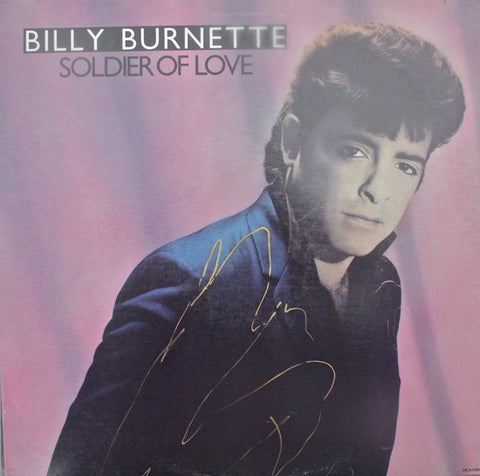 Billy Burnette ‎– Soldier Of Love - New Vinyl (Vintage 1986) USA - Rock/Rockabilly