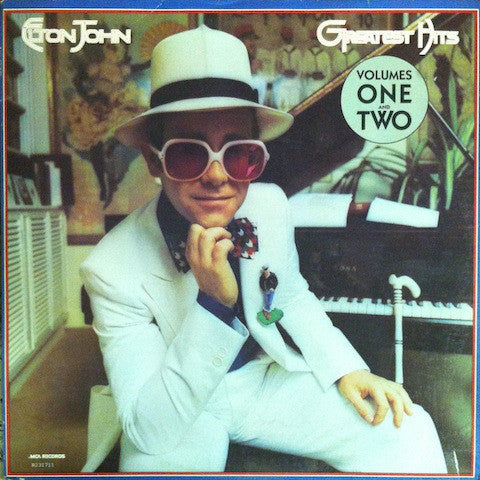 Elton John - Greatest Hits Volumes One And Two - Mint- 2 Lp Set 1974 USA - Pop/Rock