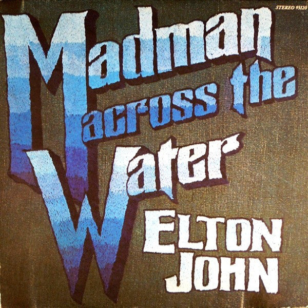 Elton John - Madman Across the Water (1971) - VG+ Lp Record USA MCA 1973 Press  - Classic Rock