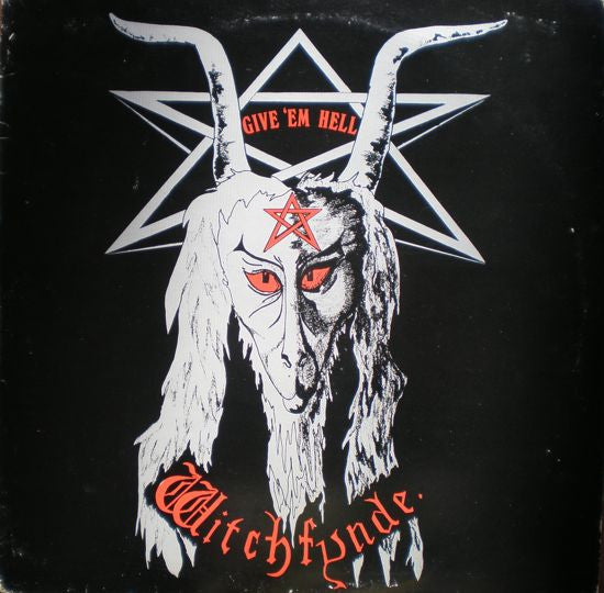 Witchfynde - Give 'Em Hell - New VInyl 2016 Back on Black Gatefold 180gram Coloured Vinyl - Metal