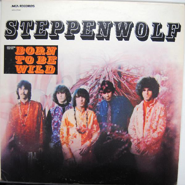 Steppenwolf ‎– Steppenwolf (1968) - VG+ Lp Record 1980 MCA USA Vinyl - Psychedelic Rock / Hard Rock