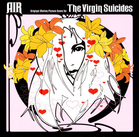 AIR ‎– The Virgin Suicides - New Lp Record 2015 Europe Import 180 gram Vinyl - Soundtrack