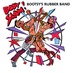 "Bootsy's Rubber Band – Body Slam - VG+ (VG cover) 12"" USA 1982 - P.Funk"