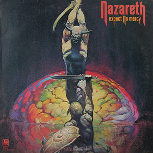 Nazareth - Expect No Mercy Mint- Lp Record 1977 USA Original Vinyl - Hard Rock