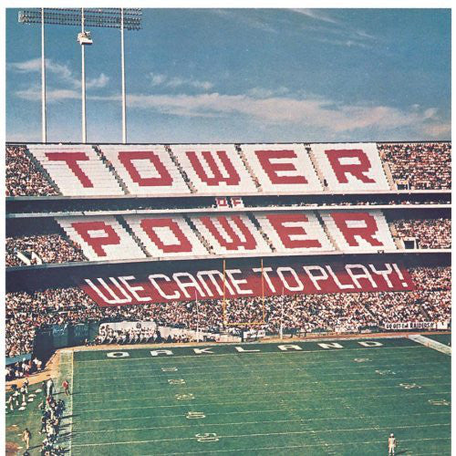 Tower Of Power ‎– We Came To Play VG+ Lp Record 1978 Stereo USA Original - Funk / R&B