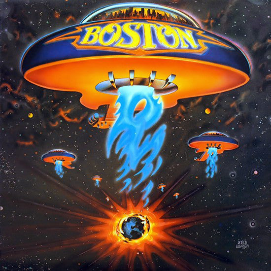 Boston - Boston - Mint- 1976 Stereo Oirginal Press USA - Rock - B16-026