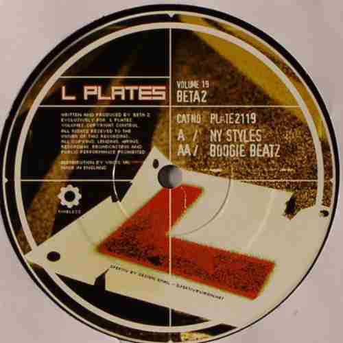 "Beta 2 – NY Styles / Boogie Beatz 12"" Dance 2003 - Drum n Bass"