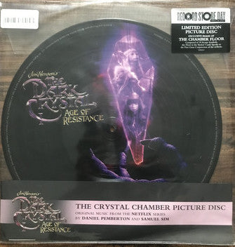 Daniel Pemberton & Samuel Sim - The Dark Crystal: Age of Resistance (The Crystal Chamber) - New LP Record Store Day 2020 Varese Sarabande Picture Disc Vinyl - Soundtrack