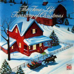 Various ‎– The Time-Life Treasury Of Christmas - Mint- 3 Lp Record Box Set 1986 Time Life Music USA Vinyl & Booklet - Holiday / Christmas