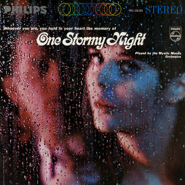 The Mystic Moods Orchestra - One Stormy Night - Mint- Stereo 1972 Warner Bros. Green Lbl USA Jazz - B8-130