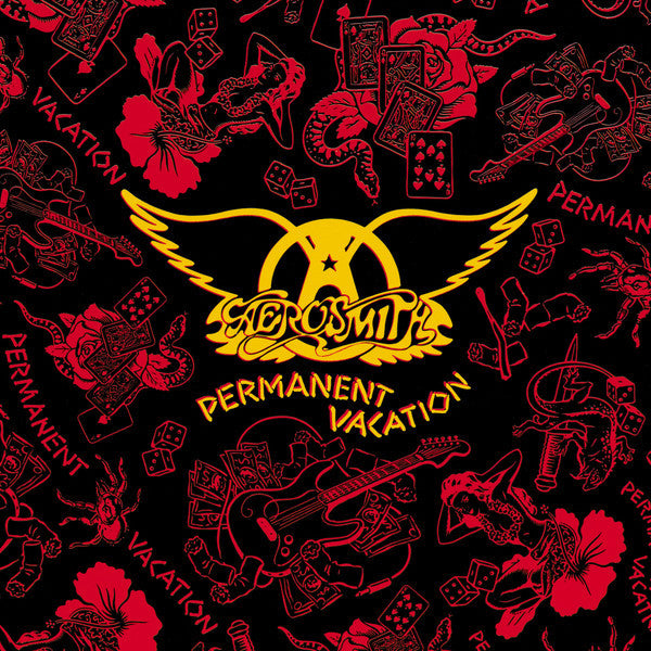 Aerosmith – Permanent Vacation - Mint- 1987 USA (Original Press With Inner Sleeve) - Rock - B21-091