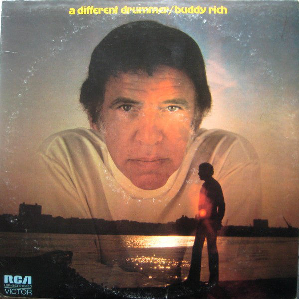 Buddy Rich ‎– A Different Drummer - VG+ - 1971 - Used Vinyl Lp