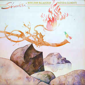 Shakti With John McLaughlin ‎– Natural Elements - Mint- Lp Record 1977 CBS USA Promo Vinyl - Jazz Fusion