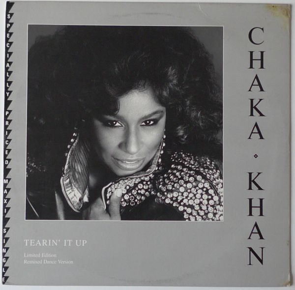 "Chaka Khan – Tearin' It Up - Mint- 12"" Single 1982 USA - Disco"
